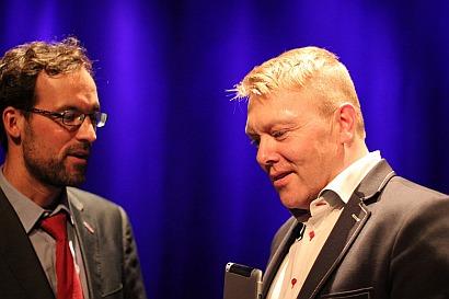 Island zu Gast bei der PARTEI