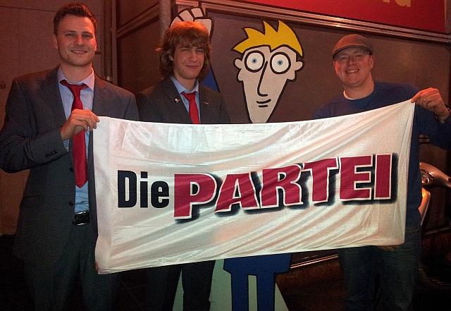Der Vorstand der PARTEI Kassel