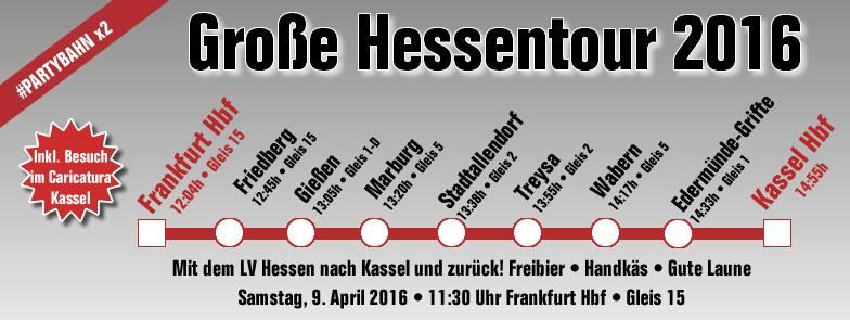 Einladung zur Großen Hessentour