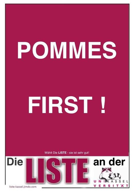 """""""Pommes sind aus""""-""""Kundschaft auch""""-Flashmob – Ein überragender Erfolg"""