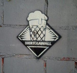 Bierkrawall Graffity