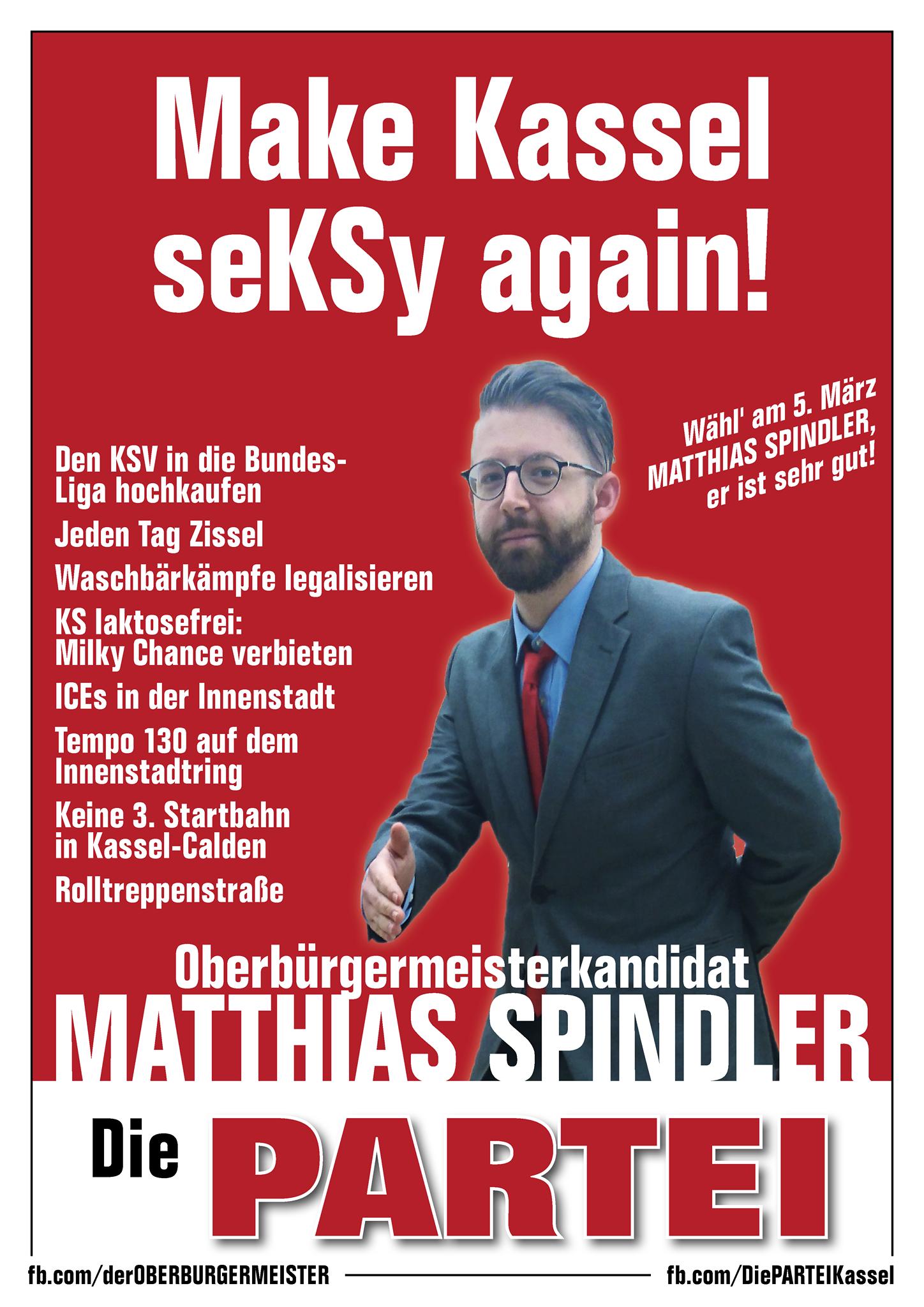 Ein Oberbürgermeister für Kassel